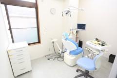完全個室の診療室完備